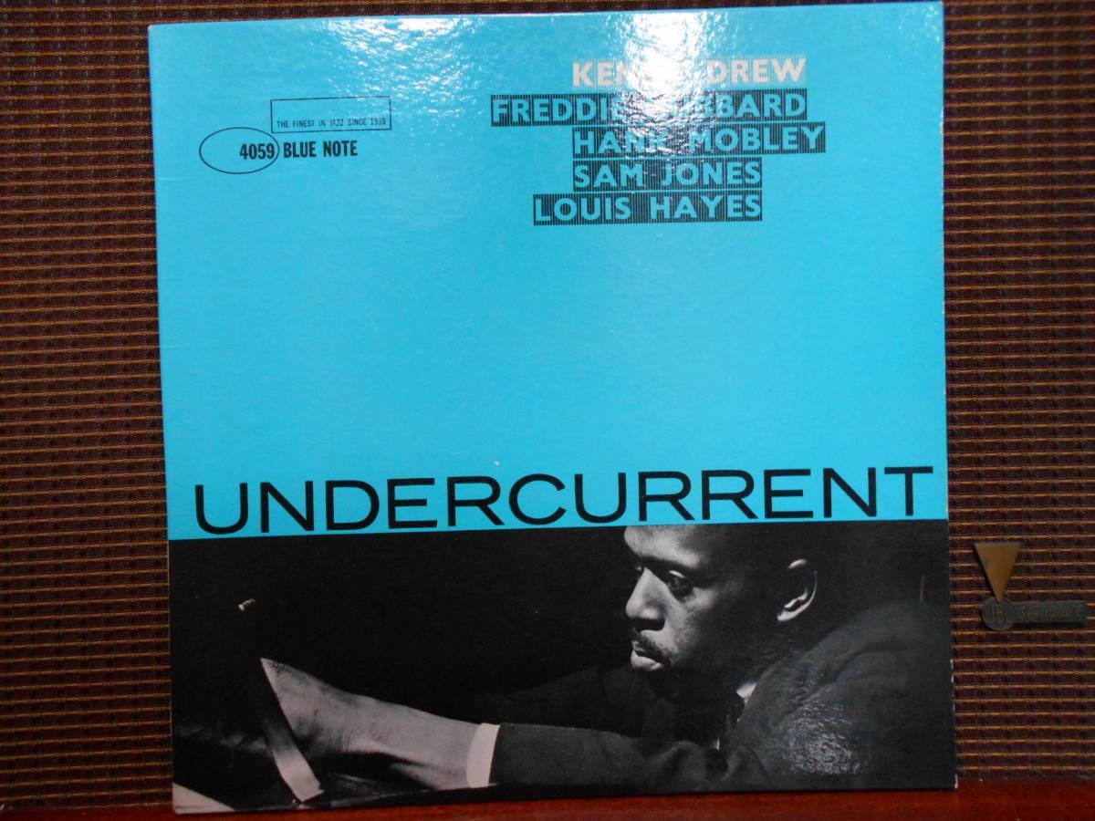 """米MONO盤 KENNY DREW """"UNDERCURRENT"""" BLUE NOTE 4059 47 WEST 63rd RVG"""