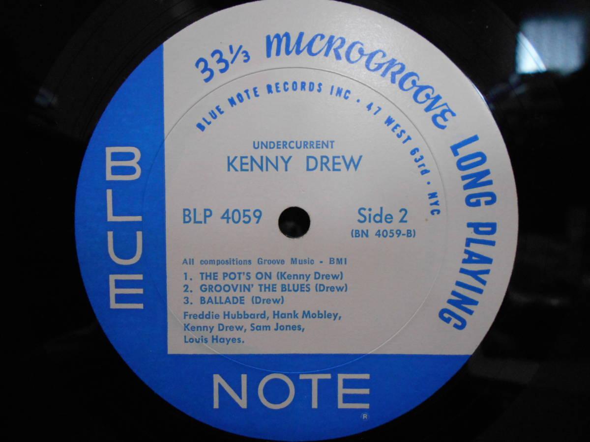 """米MONO盤 KENNY DREW """"UNDERCURRENT"""" BLUE NOTE 4059 47 WEST 63rd RVG_画像4"""
