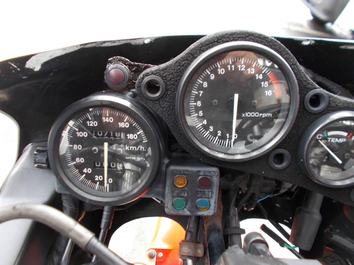ホンダ CBR400RR NC23 書類あり エンジン不動 レストアベース 北海道 札幌発_画像9