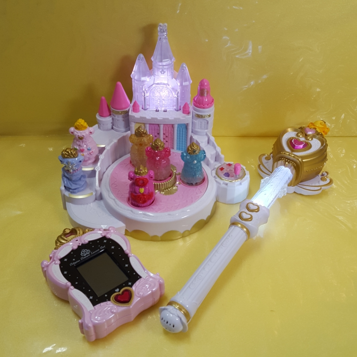 2c515749d06c5c GO! プリンセスプリキュア おもちゃ セット ミュージックプリンセスパレス レッスン