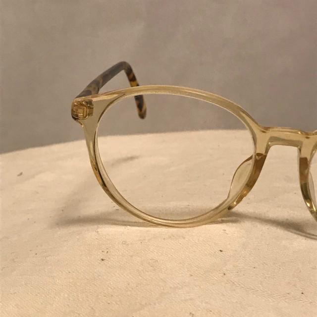 鯖江 ビンテージ 80's メガネ セルフレーム レトロ ツートン サングラス 替えレンズ_画像1