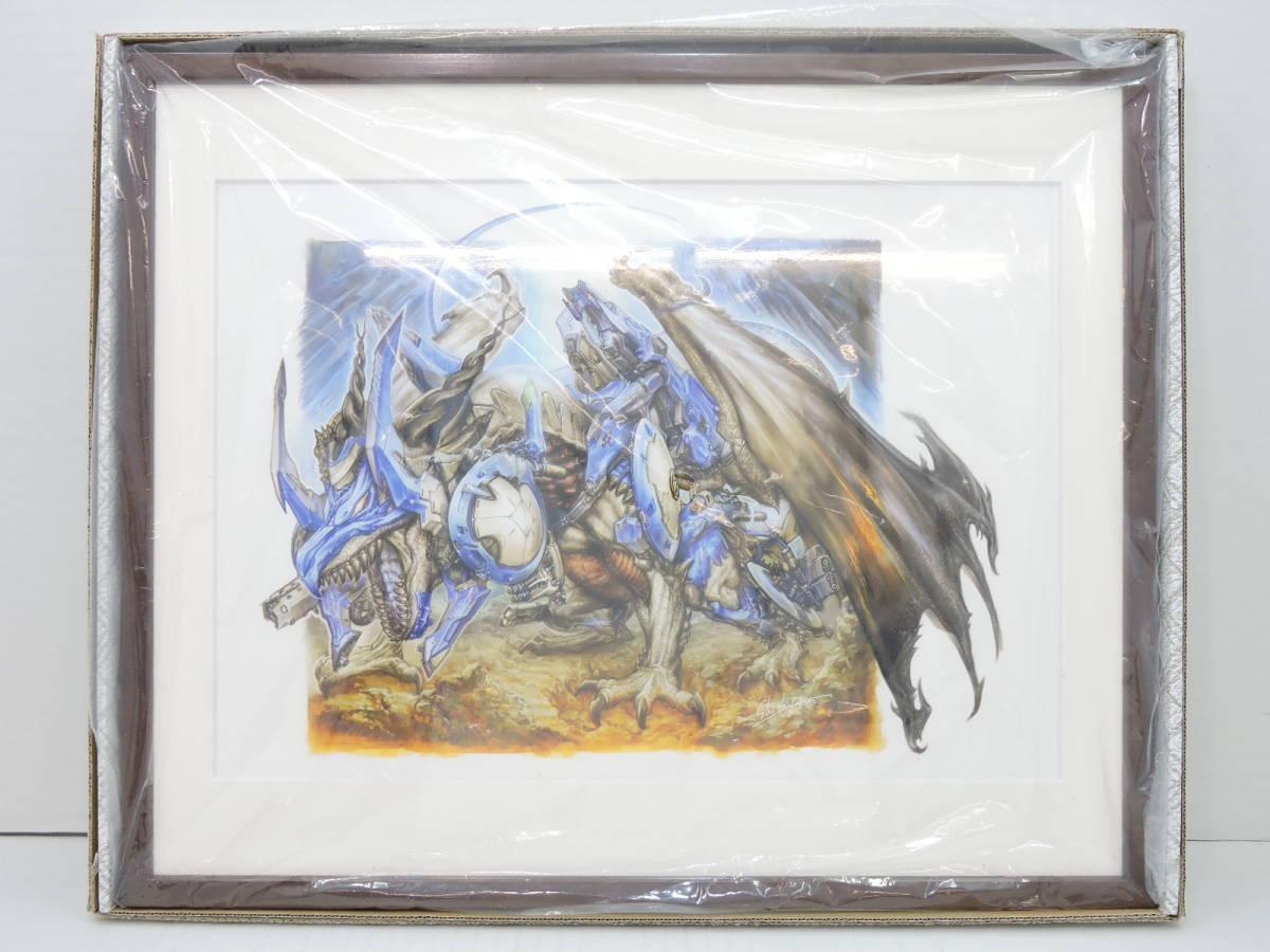 [078A234] 美品 デュエルマスターズ15周年展 複製原画 ボルメテウス ホワイトドラゴン デュエマ展 / Duel Masters / DM