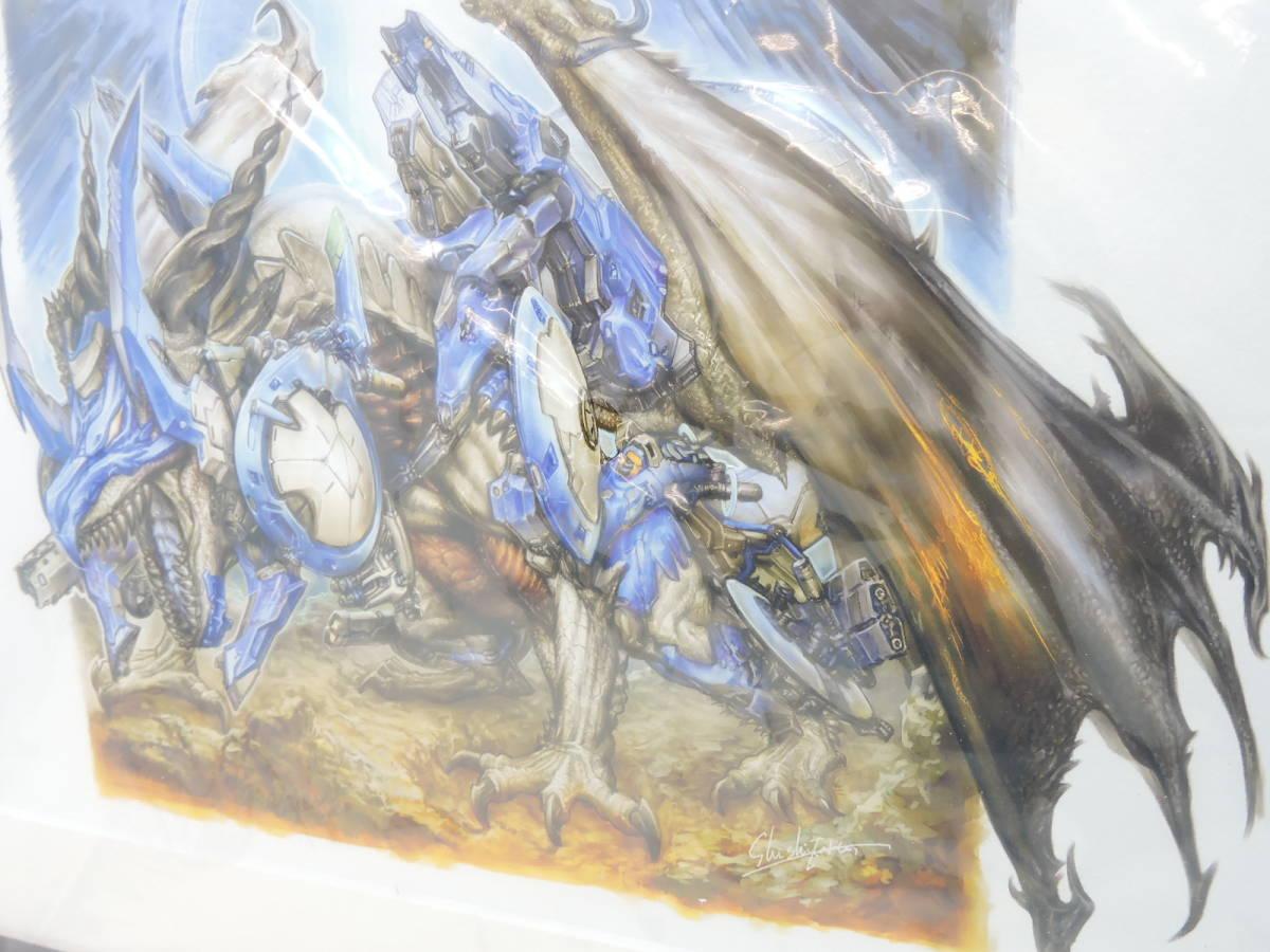 [078A234] 美品 デュエルマスターズ15周年展 複製原画 ボルメテウス ホワイトドラゴン デュエマ展 / Duel Masters / DM_画像3