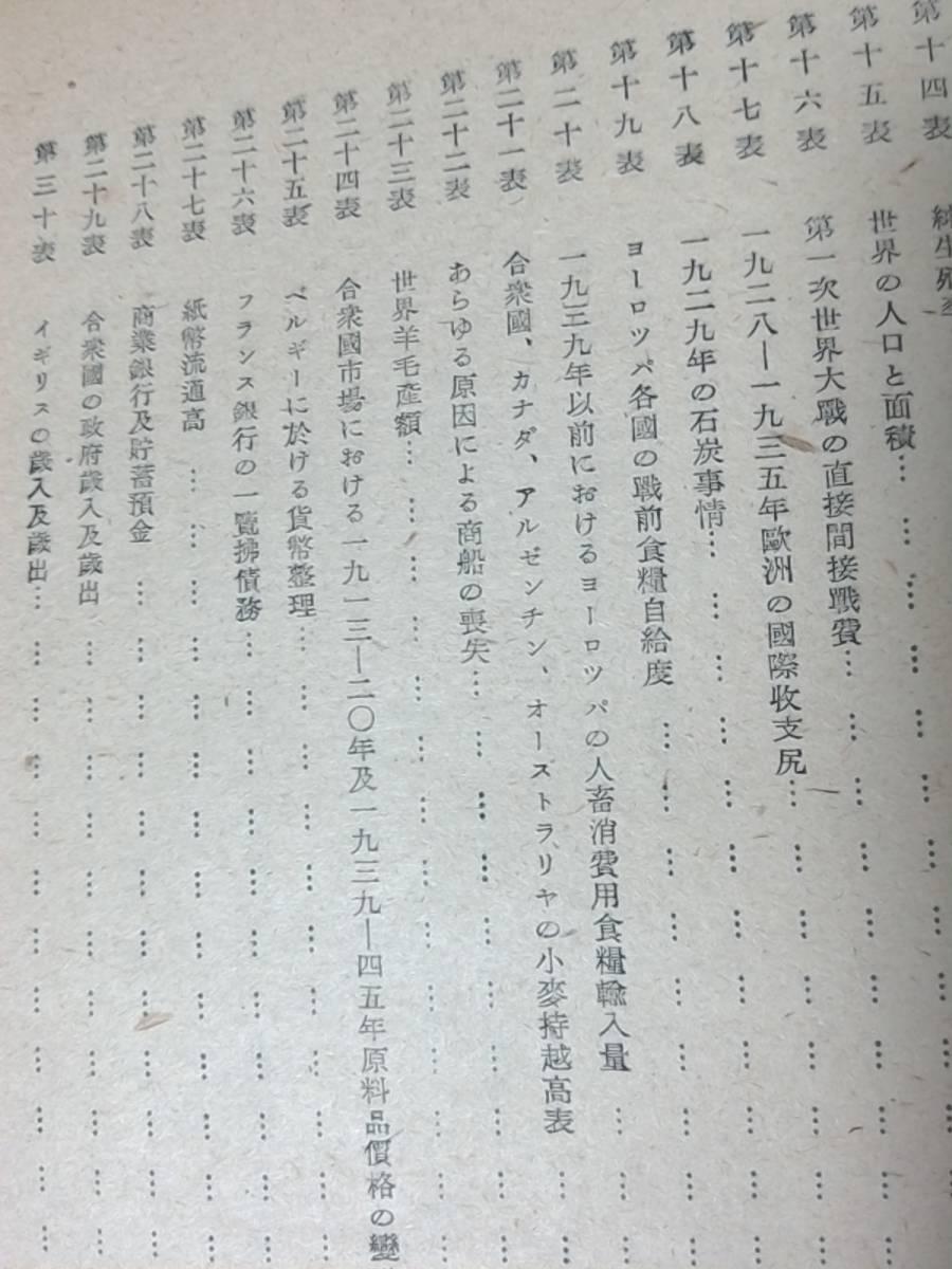 昭和22年発行 國際決濟銀行第十五回年次報告(1944~45) 第二次大戰と世界經濟 東京銀行調査部訳 時事通信社 経済/BIS_画像9