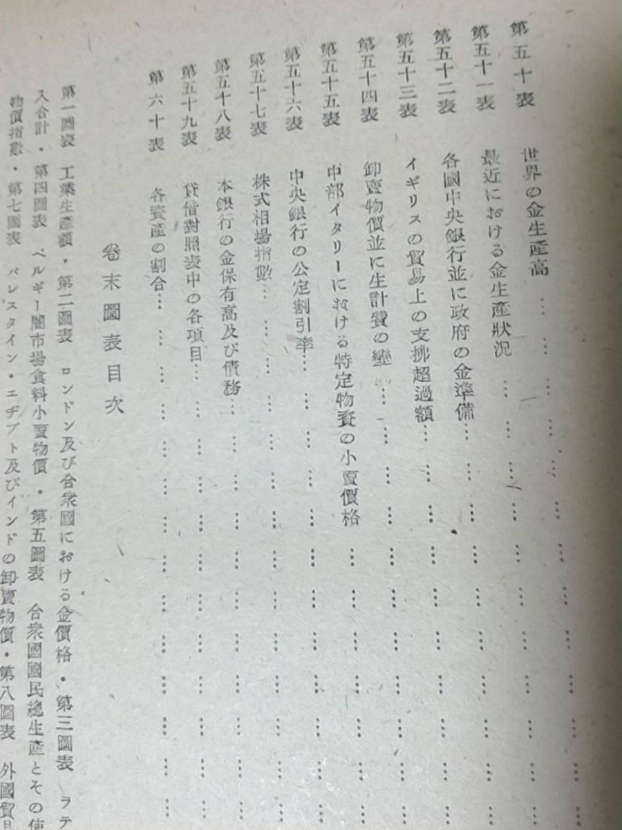 昭和22年発行 國際決濟銀行第十五回年次報告(1944~45) 第二次大戰と世界經濟 東京銀行調査部訳 時事通信社 経済/BIS_画像10