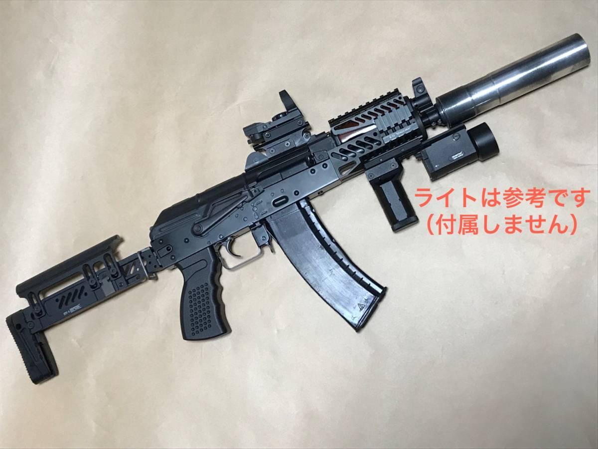 【交渉有り!!新品カスタム!!】LCT AKS74U Zenit カスタム 内部調整 実物マガジン付【送料一律!!】
