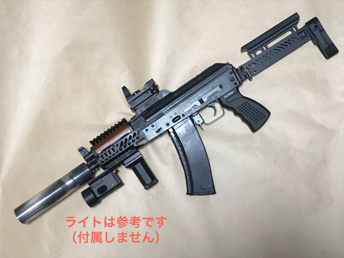 【交渉有り!!新品カスタム!!】LCT AKS74U Zenit カスタム 内部調整 実物マガジン付【送料一律!!】_画像2