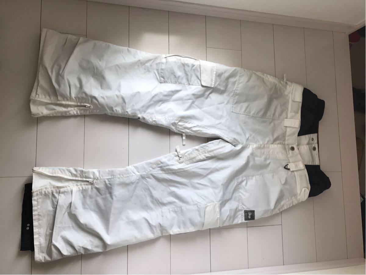 VESP ベスプ NYLON PANTS サイズ XXL BBMP16-03 ホワイト 白 WH スノーボード パンツ ウェア スノボ