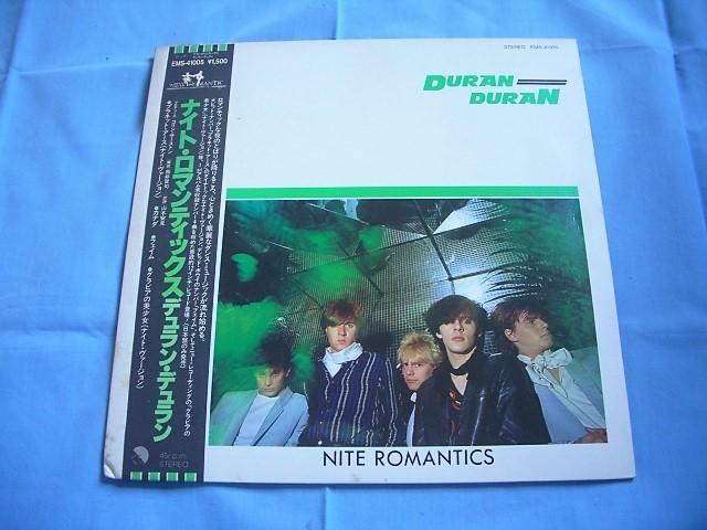 ★LPレコード Duran Duran ナイト・ロマンティックス / デュラン・デュラン ★★帯付き★★ _画像1