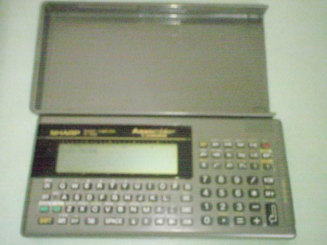 Sharp-2-1 SHARP made pocket computer PC-G830