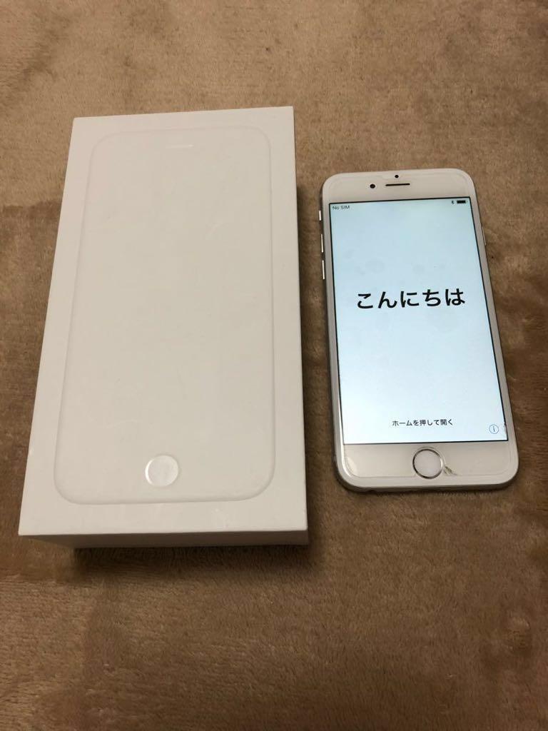 ◆iPhone6 Softbank 64GB シルバー 美品○ ◆