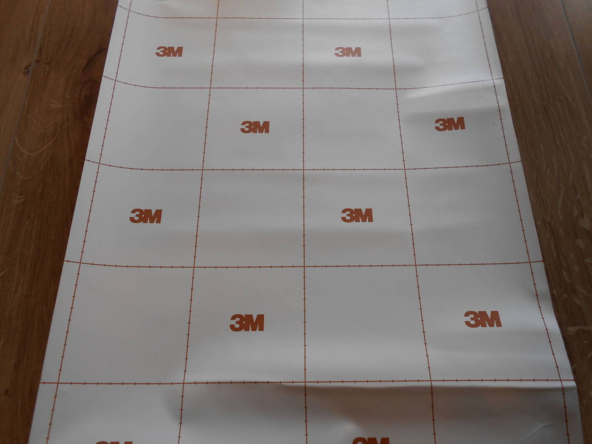 3M-塩ビシート 品番不明 端材 40㎝巾×1.2m_画像3