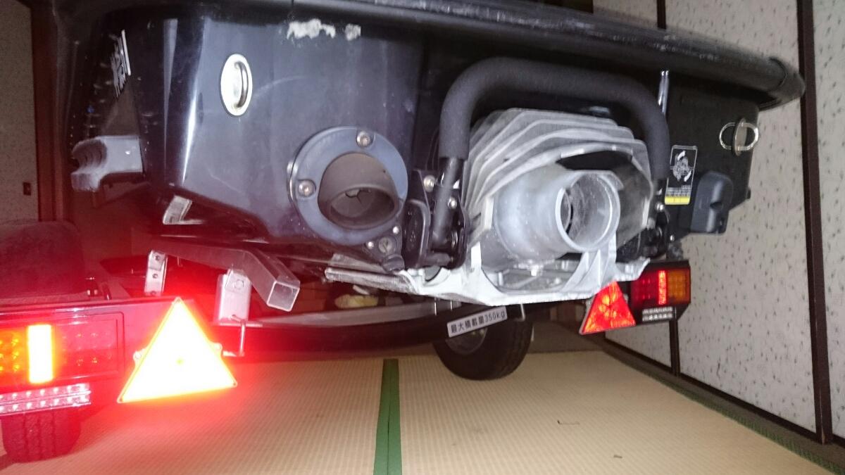 カワサキ stx-15f ジェットスキー&トレーラー台車 PRO-STYLER セット kawasaki 水上スキー ジェット2オーナー 台車新車から1日使用_画像10