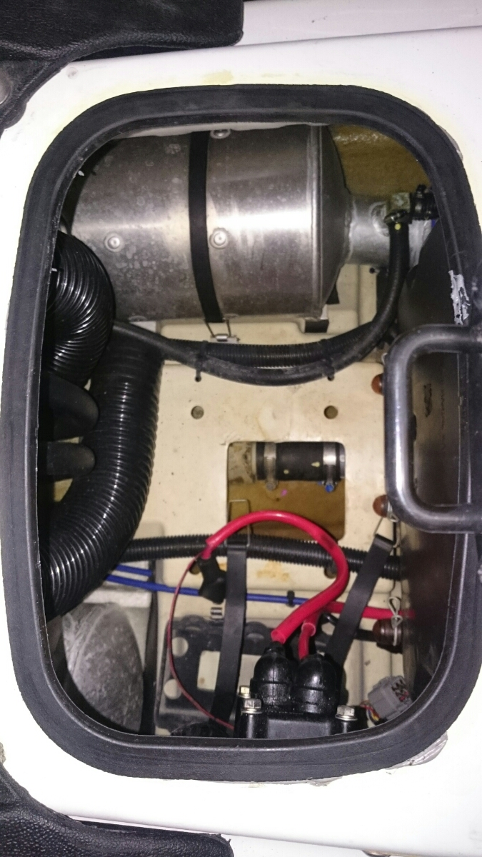 カワサキ stx-15f ジェットスキー&トレーラー台車 PRO-STYLER セット kawasaki 水上スキー ジェット2オーナー 台車新車から1日使用_画像5