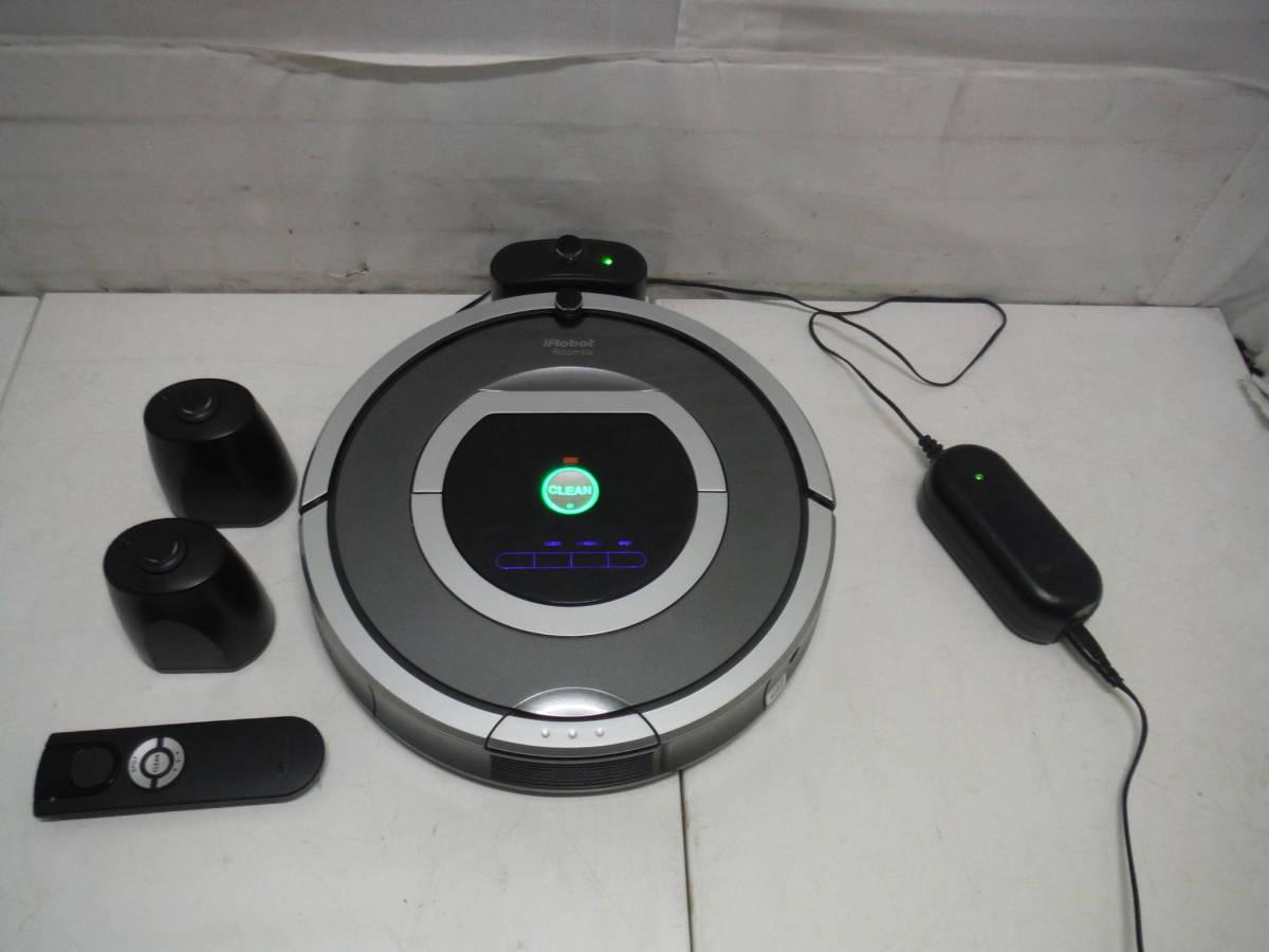 ym180511 Roomba ルンバ ロボット型掃除機 iRobot アイロボット 780 お部屋ナビ×2台付き ライトハウス機能対応モデル