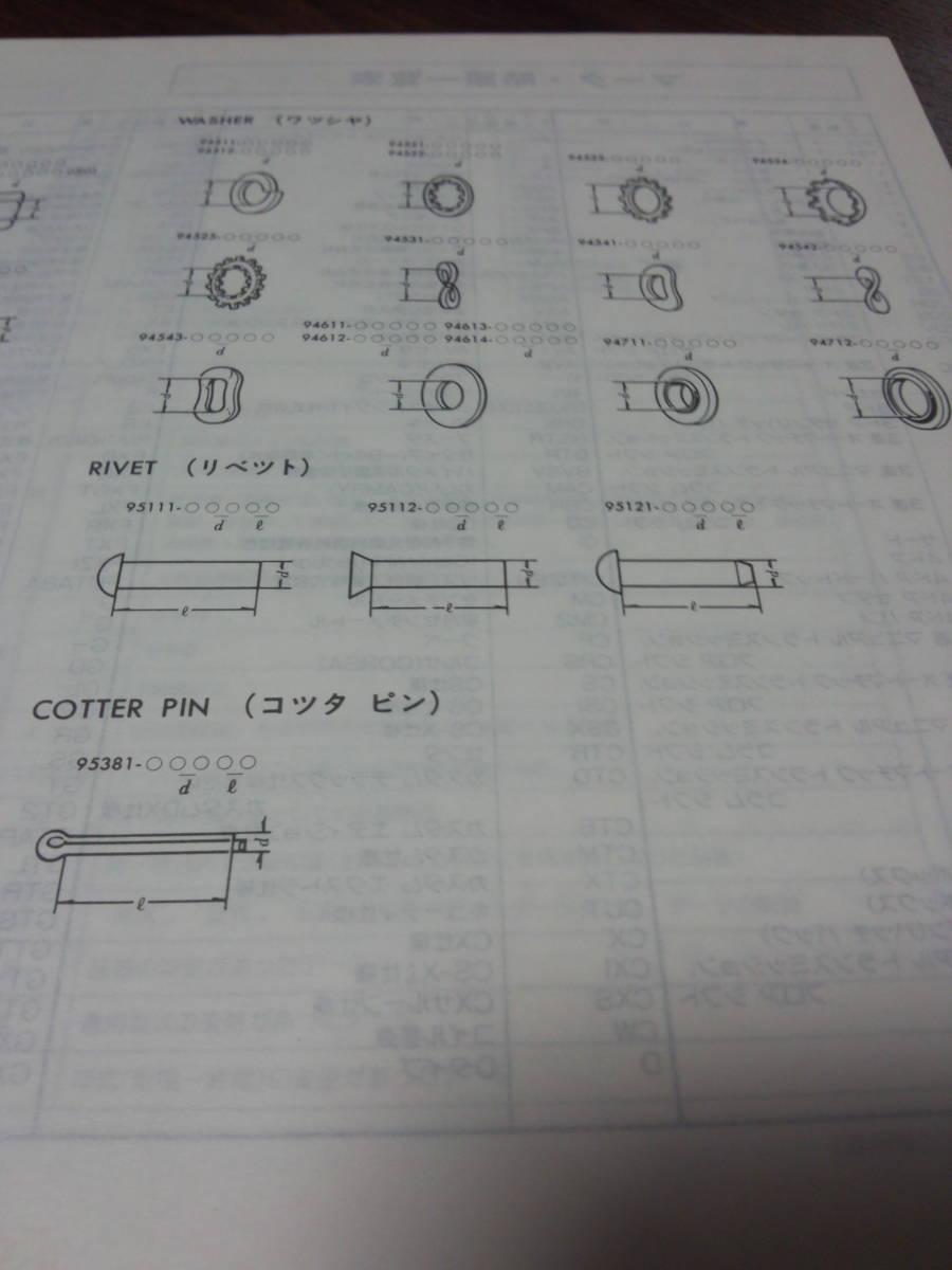 当時物 GX71 クレスタ 車検・外装 パーツカタログ _画像5
