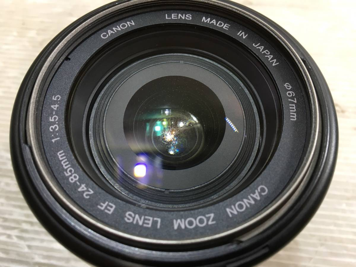 (98)Canon キャノン ULTRASONIC Canon ZOOM LENS EF 24-85mm 1:3.5-4.5_画像2