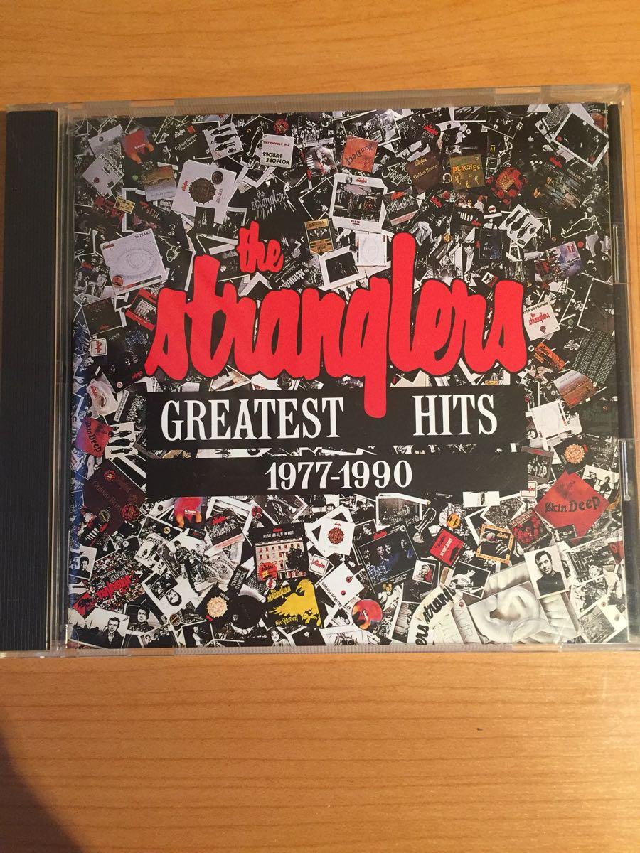 ザ・ストラングラーズ グレイテスト・ヒッツ1977‐1990 国内盤CD