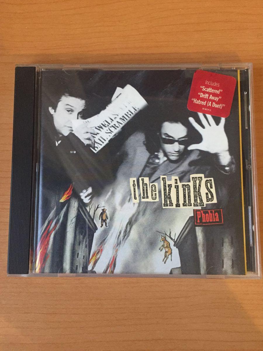 ザ・キンクス フォビア(Phobia)ポスター型ジャケット 米国盤CD