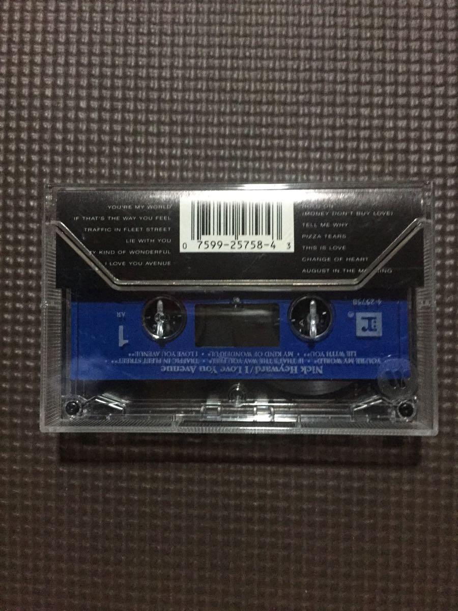 ニック・ヘイワード I Love You Avenue 【激レア】米国盤カセットテープ