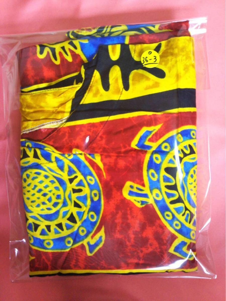 未使用 ムームー ハワイアン アロハ フラ サマードレス フラダンス 結婚式 サマードレス 花柄ワンピース サーフィン 水着 の上にも 36-3_画像3