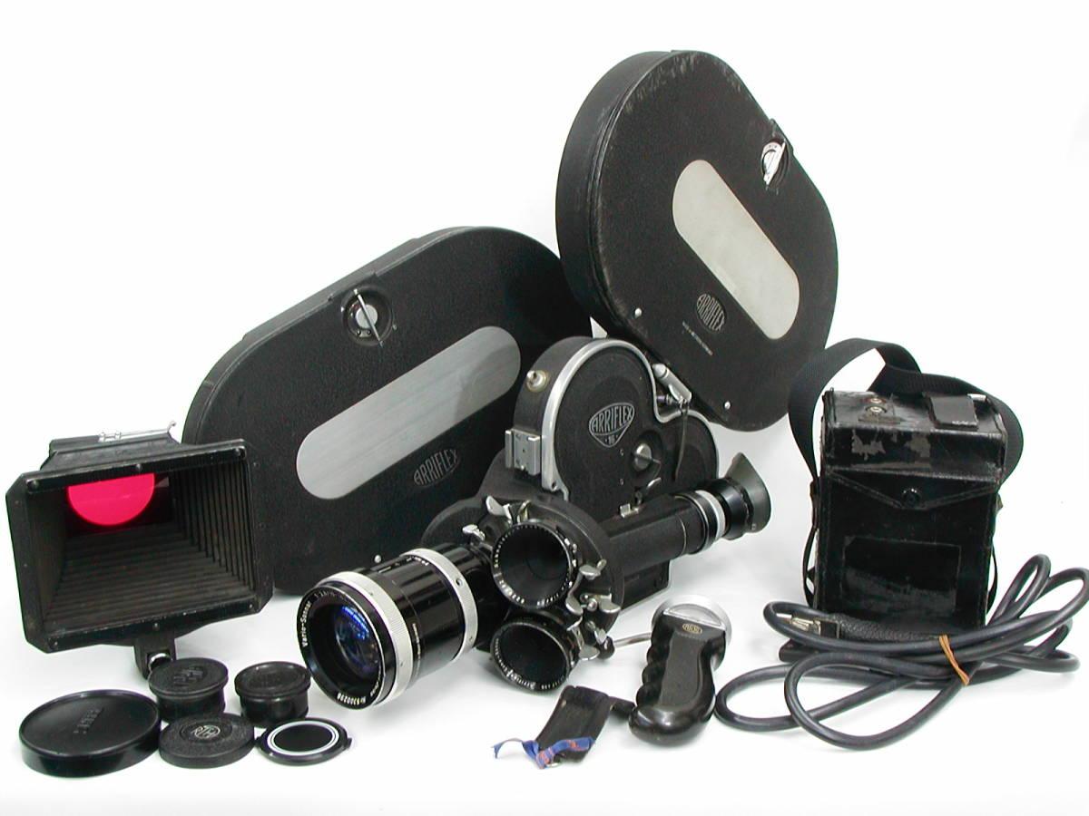アリフレックス16mm Cine-Xenon1:2/16、1:1.4/25、Vario-Sonnar1:2.8/10-100 <<動作未確認現状渡し>>