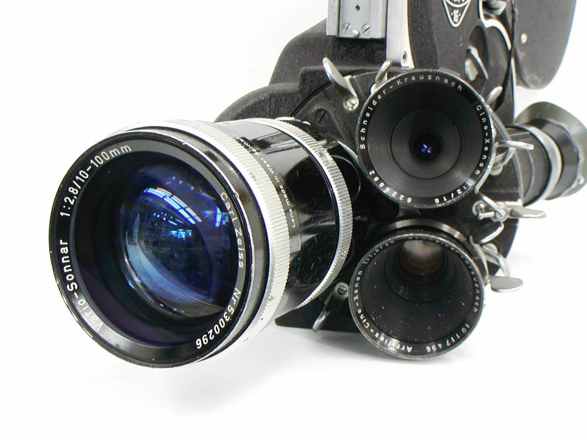 アリフレックス16mm Cine-Xenon1:2/16、1:1.4/25、Vario-Sonnar1:2.8/10-100 <<動作未確認現状渡し>>_画像4