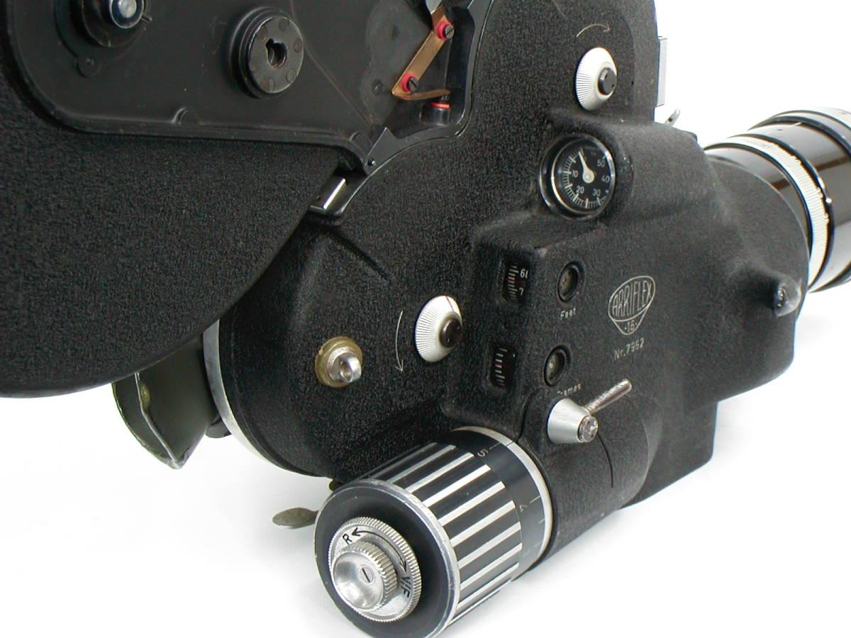 アリフレックス16mm Cine-Xenon1:2/16、1:1.4/25、Vario-Sonnar1:2.8/10-100 <<動作未確認現状渡し>>_画像5