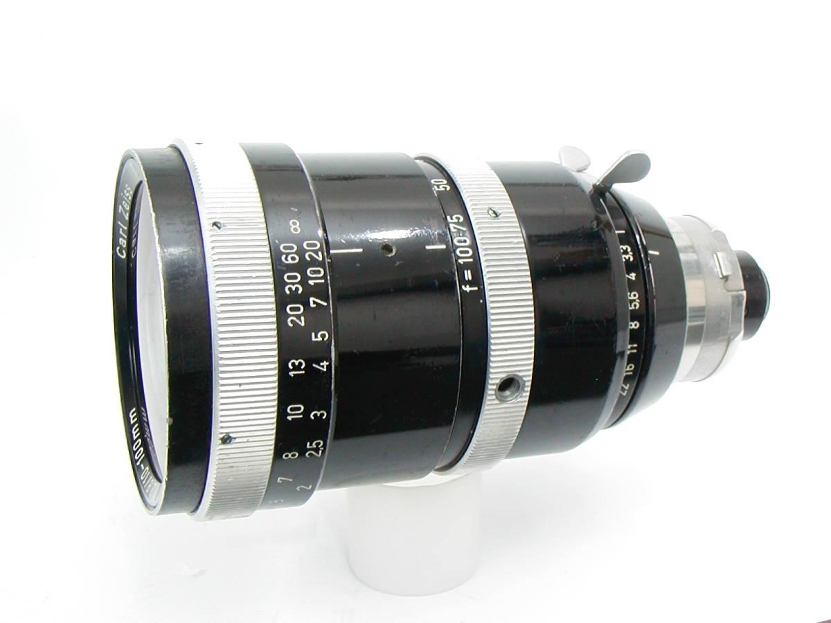 アリフレックス16mm Cine-Xenon1:2/16、1:1.4/25、Vario-Sonnar1:2.8/10-100 <<動作未確認現状渡し>>_画像9