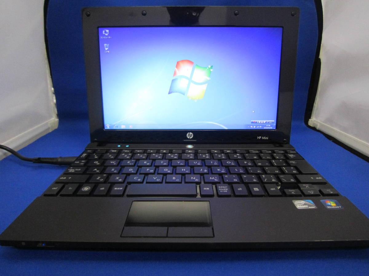 HP Mini 5103 / Windows 7 Pro 32bit / Atom N550 1.50GHz / 2GB / HDD 160GB / ③