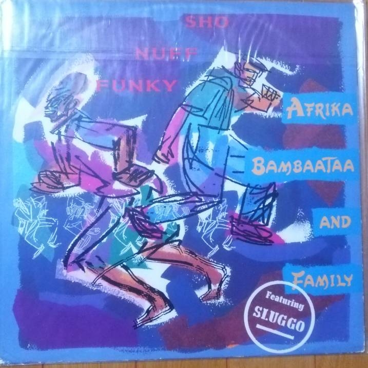 レコード アフリカバンバータ Afrika Bambaataa Sho Nuff Funky Feat. Slug-Go) ヒップホップ ラップ rap DJ ブラックミュージック 12inch_画像1