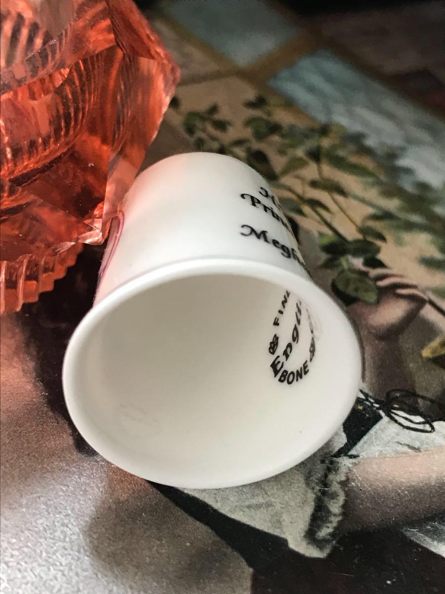 新品◆英国製シンブル指貫◆ヘンリー王子&メーガン婚約記念_画像4