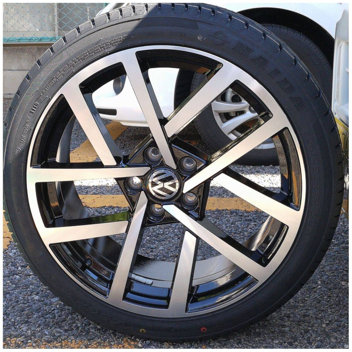 VW ワーゲン ゴルフ5 ゴルフ6 ゴルフ7 18インチ 新品 225/40R18 4本 タイヤセット品_画像7