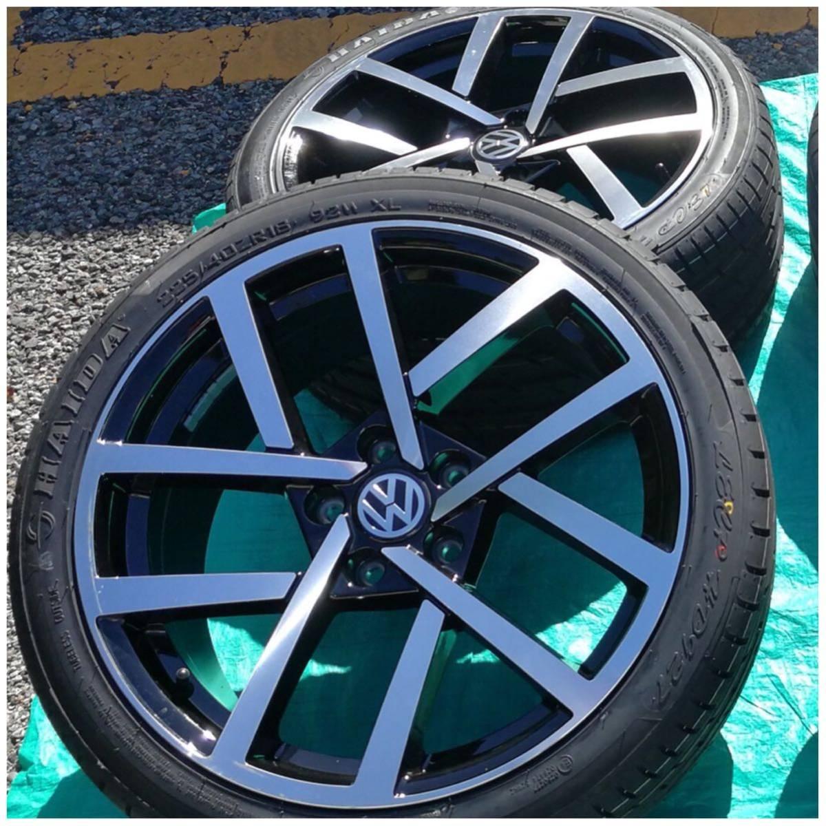 VW ワーゲン ゴルフ5 ゴルフ6 ゴルフ7 18インチ 新品 225/40R18 4本 タイヤセット品_画像3