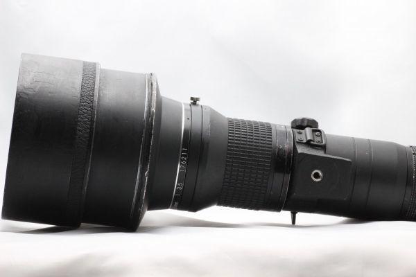 【実用動作品 1円スタート】ニコン Nikon Ai-s NIKKOR ED 400mm 3.5 超望遠 MF レンズ 単焦点 ニッコール 180420-01_画像7