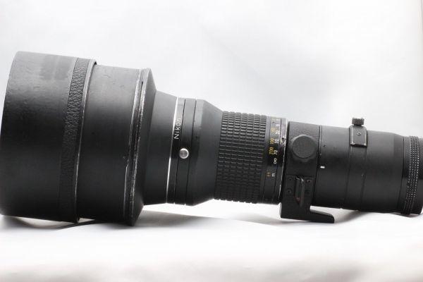 【実用動作品 1円スタート】ニコン Nikon Ai-s NIKKOR ED 400mm 3.5 超望遠 MF レンズ 単焦点 ニッコール 180420-01_画像8