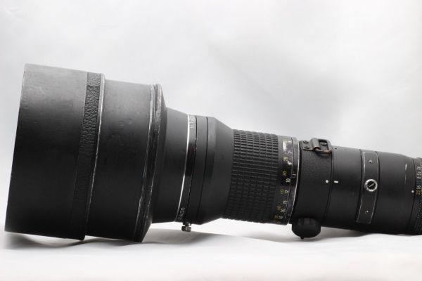 【実用動作品 1円スタート】ニコン Nikon Ai-s NIKKOR ED 400mm 3.5 超望遠 MF レンズ 単焦点 ニッコール 180420-01_画像9