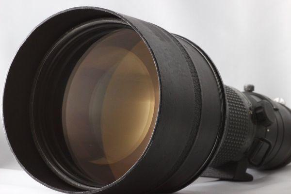 【実用動作品 1円スタート】ニコン Nikon Ai-s NIKKOR ED 400mm 3.5 超望遠 MF レンズ 単焦点 ニッコール 180420-01