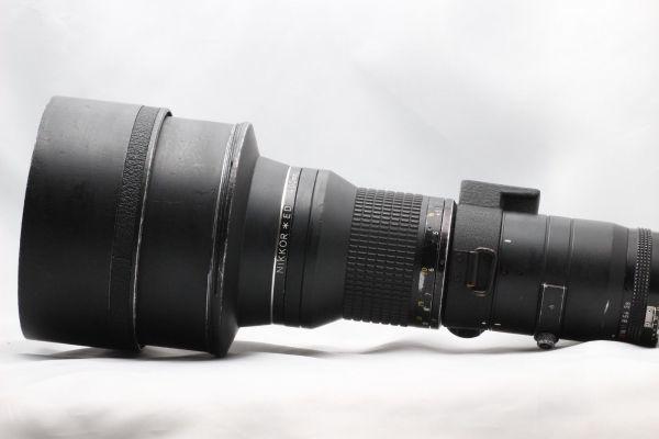 【実用動作品 1円スタート】ニコン Nikon Ai-s NIKKOR ED 400mm 3.5 超望遠 MF レンズ 単焦点 ニッコール 180420-01_画像6
