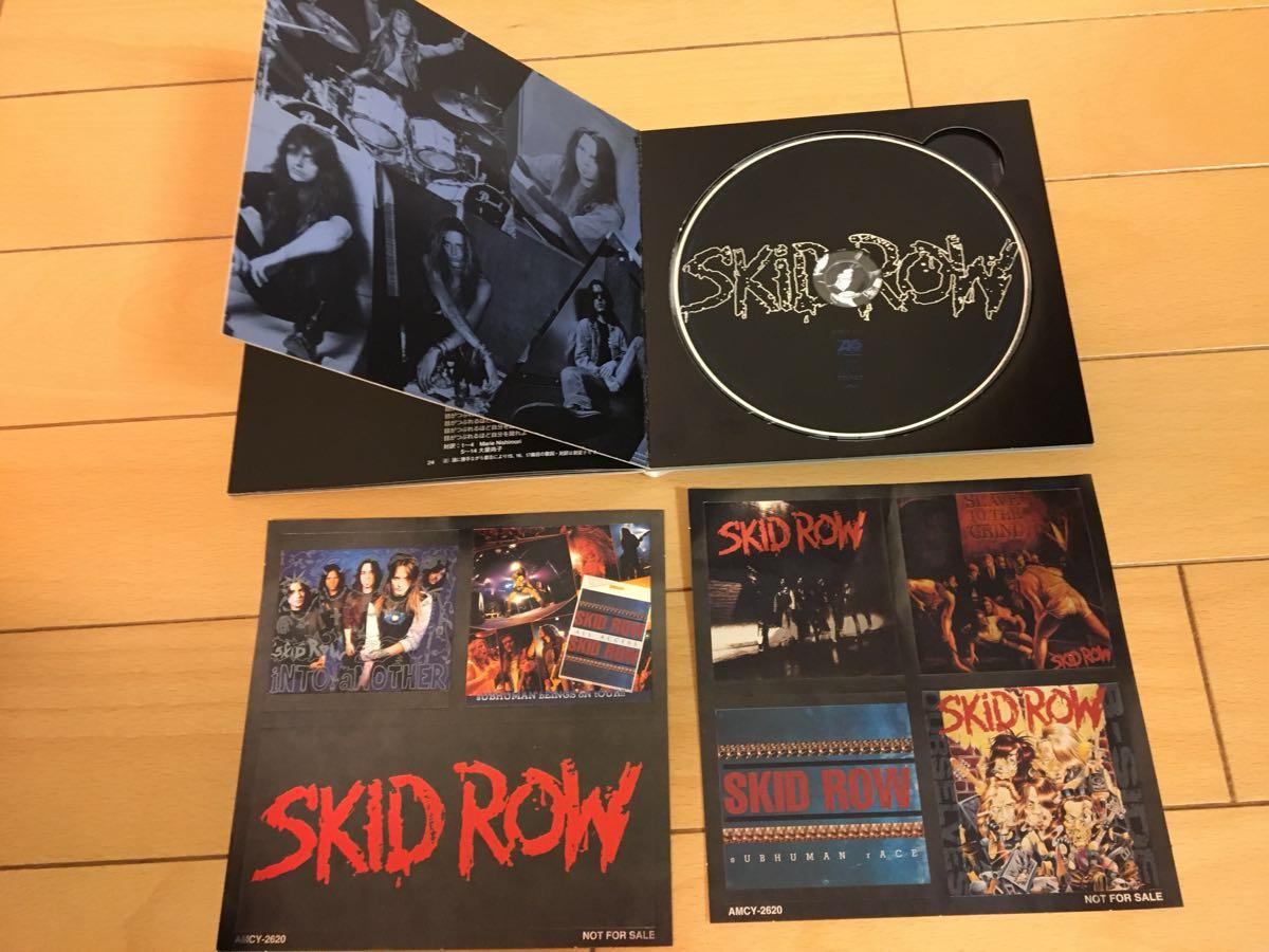 SKID ROW / Forty Seasons The Best of 国内初回盤 ステッカー付き ベスト_画像2