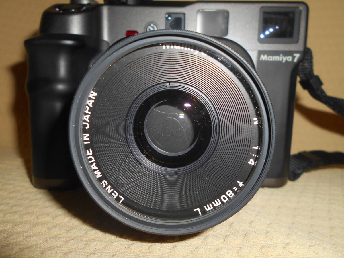 Mamiya7&レンズ Mamiya 1:4 f=80㎜ ジャンク品扱いで_画像3