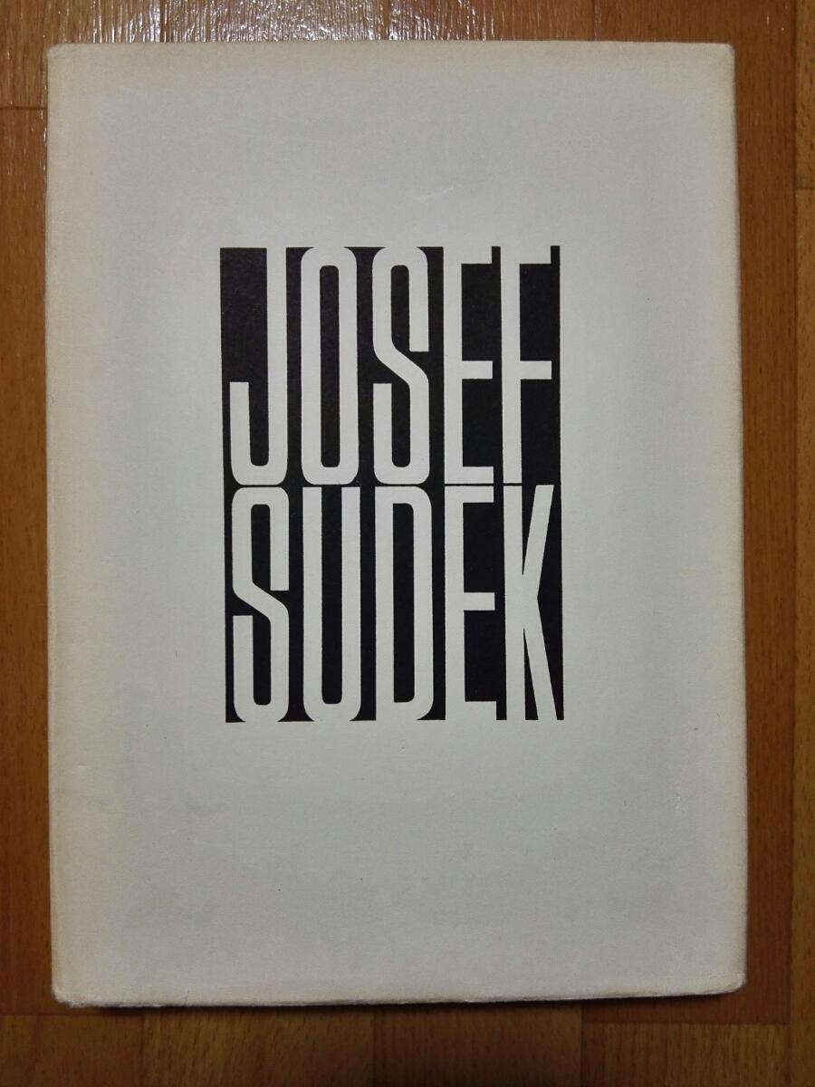 特価☆ヨゼフ・スデク Josef Sudek 1956年 写真集 ☆カバーあり