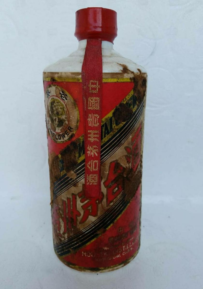 古酒  貴州茅台酒(マオタイシュ) サンフラワー 重量(1090g)