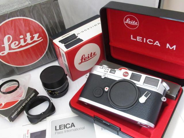 264☆ライカ/Leica M6 SUMMICRON-M 1:2 35mm FILTER E39 Leitz 動作未確認のジャンク扱 カメラ レンズ 1円~