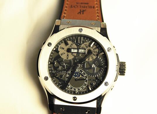 【高級時計】ウブロHUBLOT オートマティック希少 メンズ腕時計