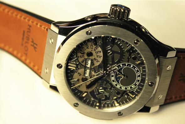 【高級時計】ウブロHUBLOT オートマティック希少 メンズ腕時計_画像3