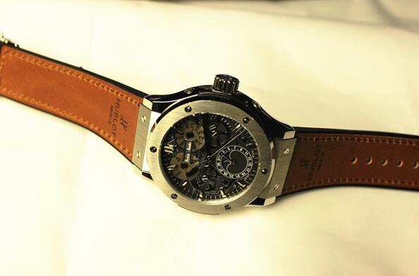 【高級時計】ウブロHUBLOT オートマティック希少 メンズ腕時計_画像4