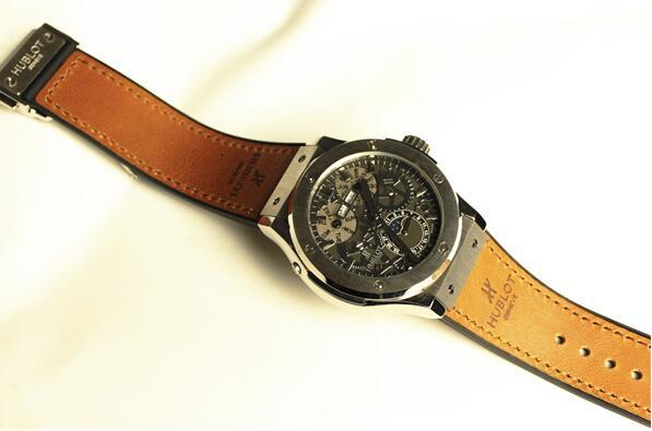 【高級時計】ウブロHUBLOT オートマティック希少 メンズ腕時計_画像5