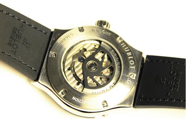 【高級時計】ウブロHUBLOT オートマティック希少 メンズ腕時計_画像2