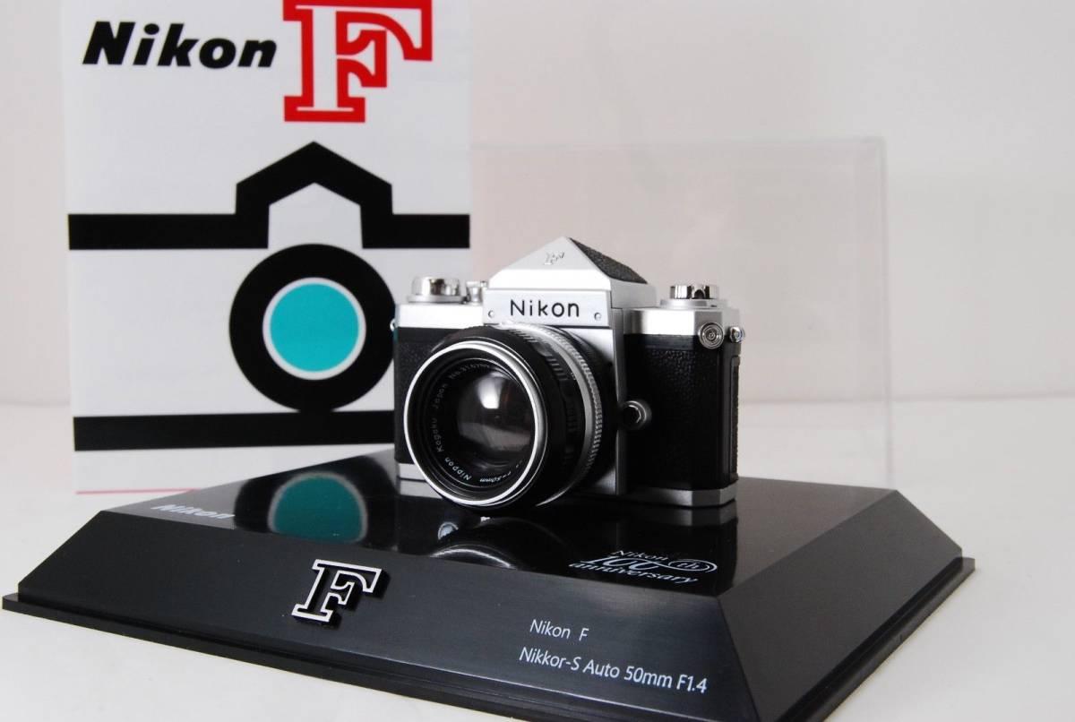 新品同様 限定受注生産 Nikon ニコン 100周年 ミニチュアカメラ ニコンF マニュアル